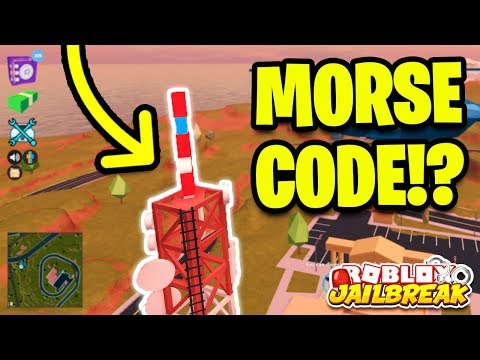 JAILBREAK SECRET MUSEUM MORSE CODE!? | Roblox Jailbreak New Mini Update!