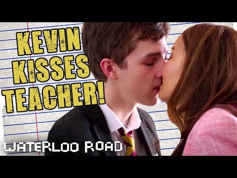 Kevin Kisses Mrs. Windsor | Waterloo Road