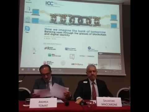 ICC Italia conference - #Blockchain and #digitalidentity