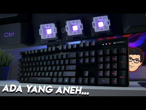 Kok Switch nya Ngikutin Logitech ?? Rapoo V806 Review !