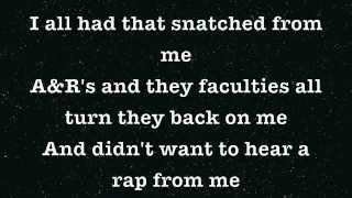 Kanye West-Spaceship Lyrics (feat. GLC and Consequence)