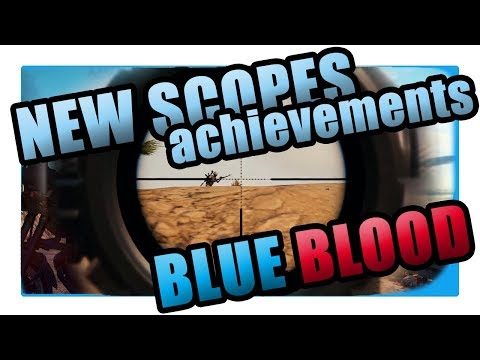PUBG Update #7 Test Server: Trying out the new scopes, blueblood and unlocking achievements!