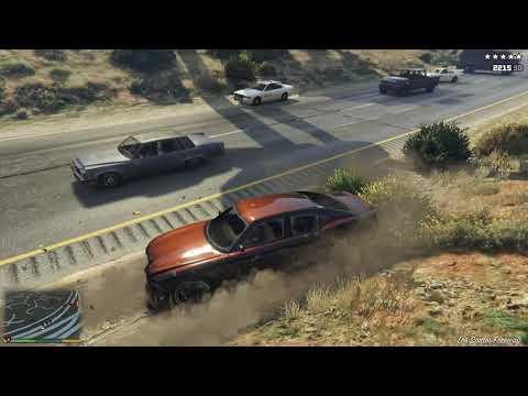 GTA 5 - BEST CAR + POLICE CHASE (BUFFALO)