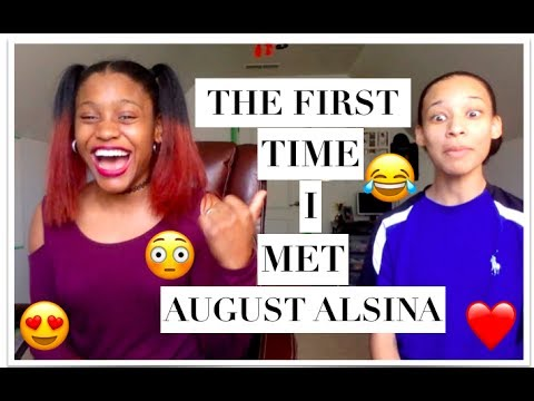 THE FIRST TIME I MET AUGUST ALSINA [STORY TIME]