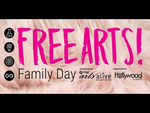 August Free Arts! Family Day Activity Video