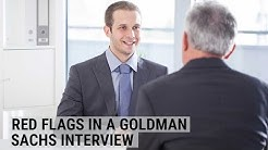 This behavior could kill your chances in a Goldman Sachs interview