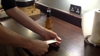 How to open a bottle of beer with a sheet of paper thumbnail