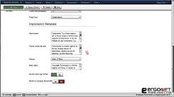 14 - Il menu Sistema - Configurazione globale - Scheda sito parte V