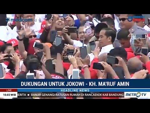 """Jokowi Hadiri Deklarasi Dukungan Alumni """"Jabar Ngahiji"""""""