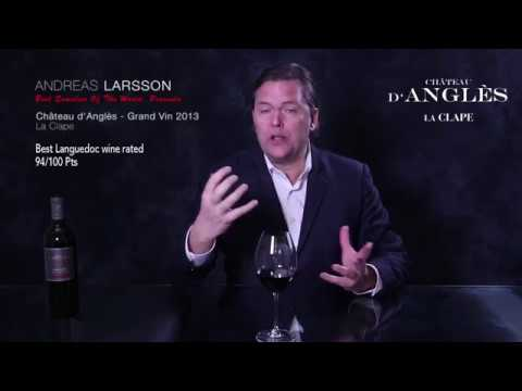 94/100 by Andreas Larsson - Château d'Anglès Grand Vin Red - www.blindtasted.com
