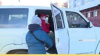 Правительственная автобаза выделила якутским волонтерам машины