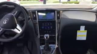 2018 INFINITI Q50 3.0 Luxe AWD with Essential, Pro-Assist, All Weather, and Cargo Packages with Spl