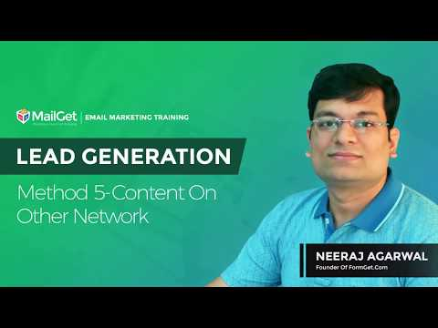 Video-11 Lead Generation Method-5 Content On Other Network