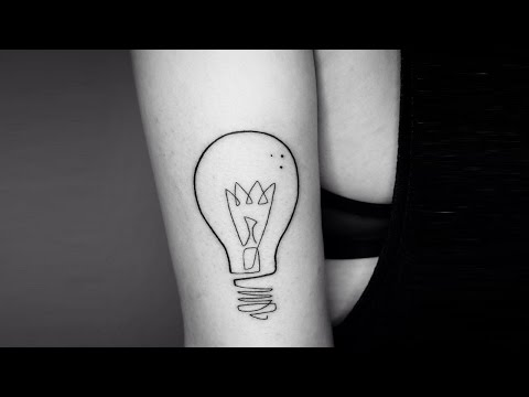 Incredible Single Continuous Line Tattoos By Mo Ganji