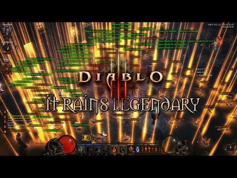 Diablo III - It Rains Legendary (Fun) [FR]