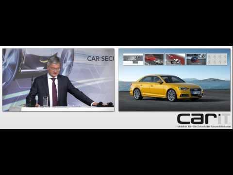 carIT-Kongress 2015: Rupert Stadler, Audi