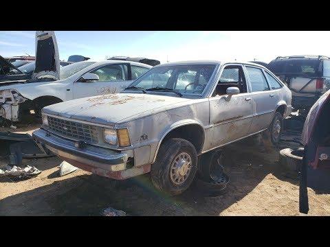 Junked Chevrolet Citation 5-Door Hatchback 1981 Slideshow