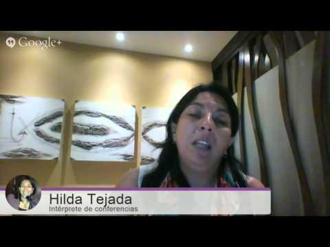 """Livestream """"Intérpretes Líderes"""" con Hilda Tejada"""