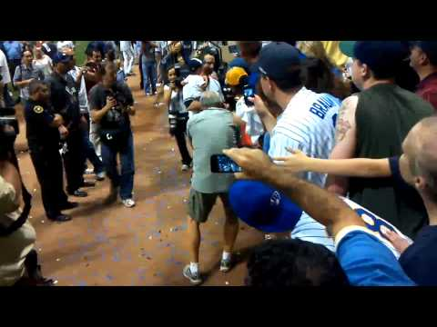 2011 Brewers NLDS Champs 10/7/11