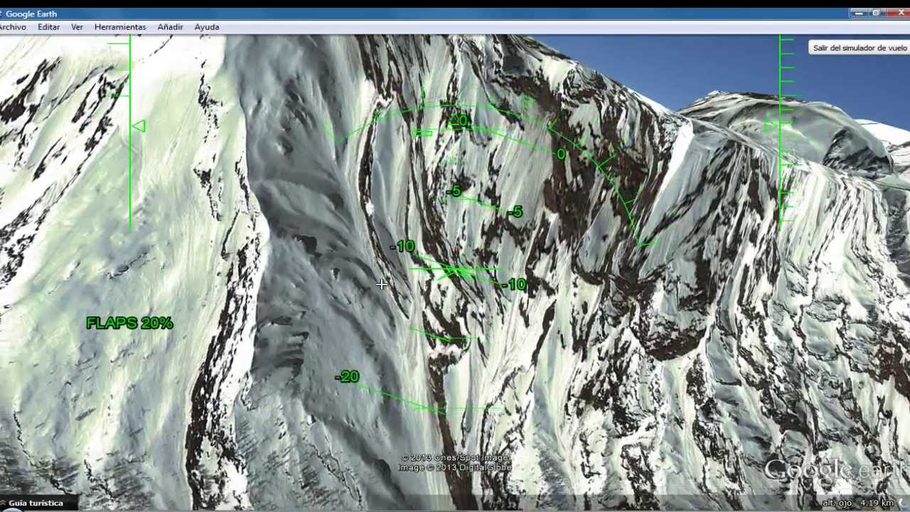 FLY with Google Earth [Himalayas and Mount Everest] - YouTube