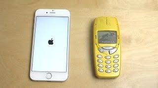 iPhone 6S vs. Nokia 3310 - Speed Test!