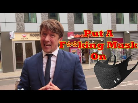 Put A F**king Mask On by Jonathan Pie REACT