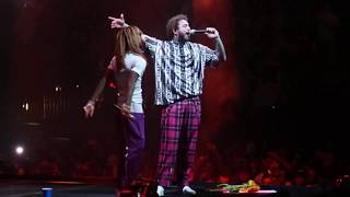 Post Malone with Swae Lee - Sunflower - Live in Sacramento, CA at Golden 1 Center