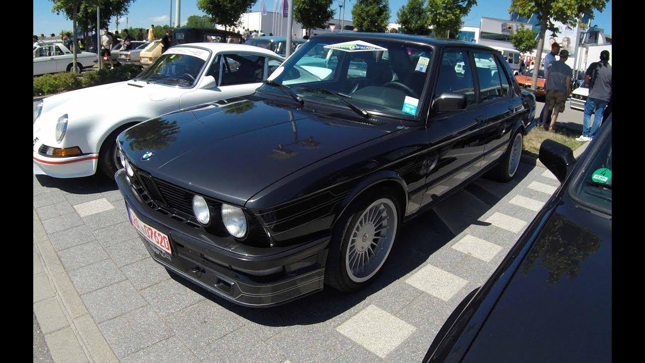 Alpina B10 3 5 Bmw 5 Series E28 1 0f 77 Worldwide Black Colour Walkaround