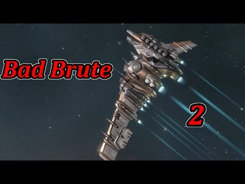 EVE Online - Bad Brute 2 [Myrmidon solo] Dawn of Liberation site gank