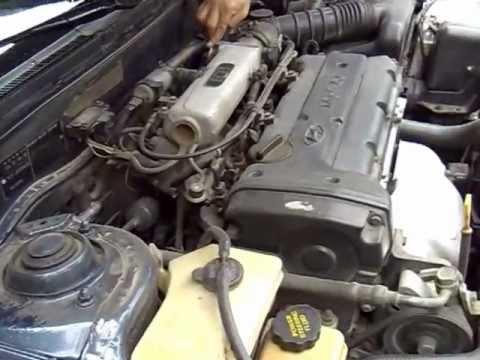 Hyundai Elantra 97 1 6 Gls Stock Engine Amp Muffler Sound