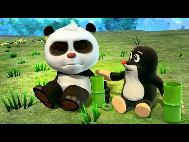 Krtek a panda epizoda 24 - Duhová zahrada