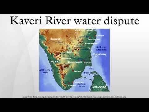 Kaveri River water dispute