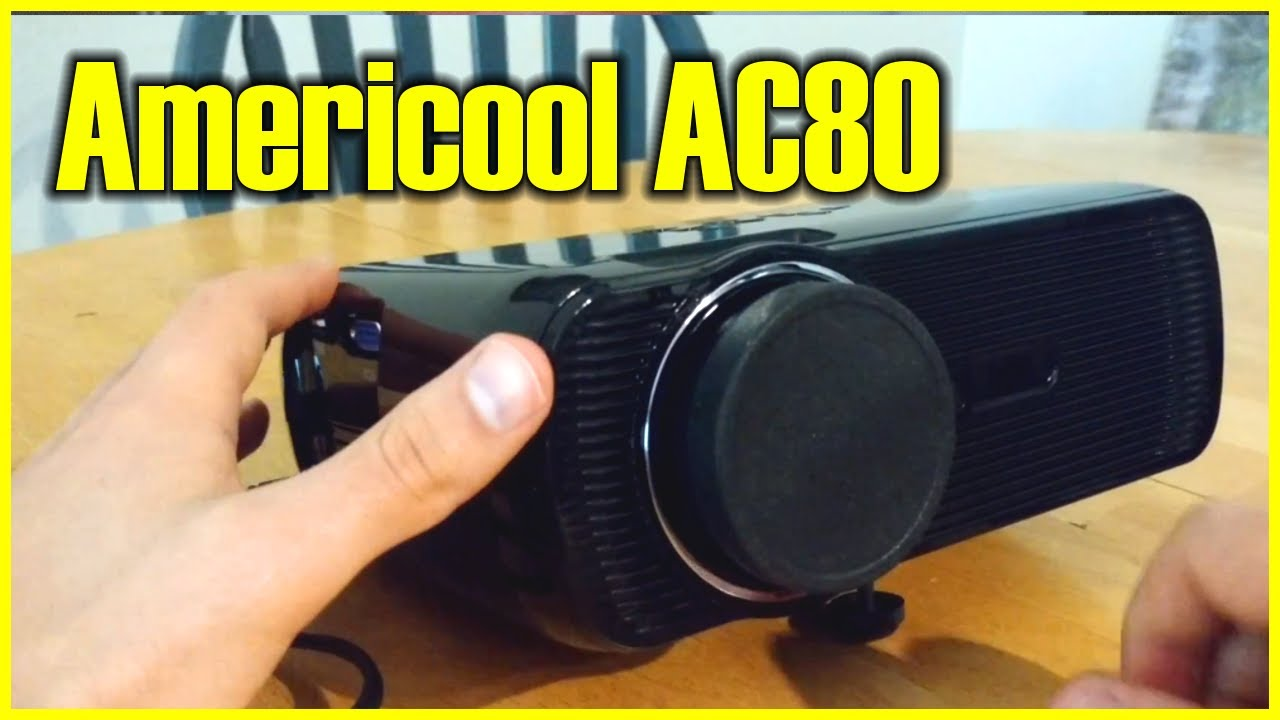 Americool Ac80 Projector Review 1200 Lumens 800x480