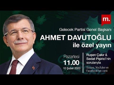 Ahmet Davutoğlu Ile Özel Yayın