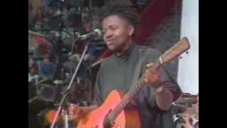 Tracy Chapman Across the Lines Nelson Mandela 70th Tribute Concert 1988