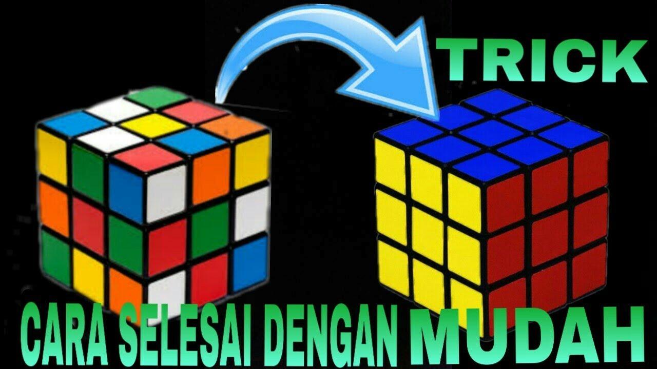 Cara Menyelesaikan Rubik Fasractive