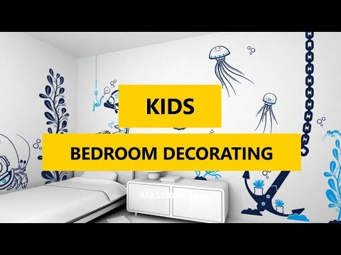 50+-best-kids-bedroom-decorating-with-wall-decals-ideas-2018