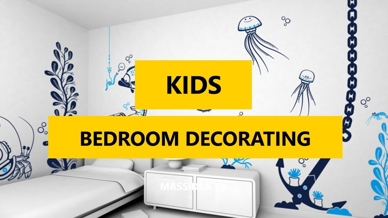 50+ Best Kids Bedroom Decorating With Wall Decals ideas 2018 - YouTube