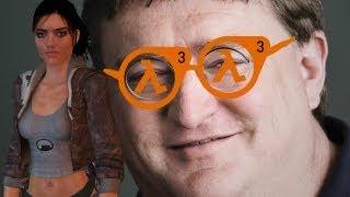 Гейб Ньюэлл анонсирует Half-Life 3(Профессиональное мнение Гейба о консолях и шокирующий анонс в конце. Лайкни, подпишись и расскажи друзьям!, 2013-02-14T16:51:17.000Z)