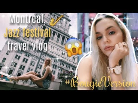 Montreal, Canada Music Festival Travel Vlog 2019 ♡ Almost Paris😌