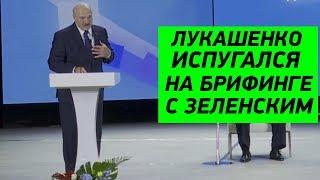 Лукашенко ОТЖИГАЕТ на брифинге с Зеленским