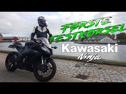 Kawasaki Ninja ZX10R 2012 - testkørsel / first ride | English subs