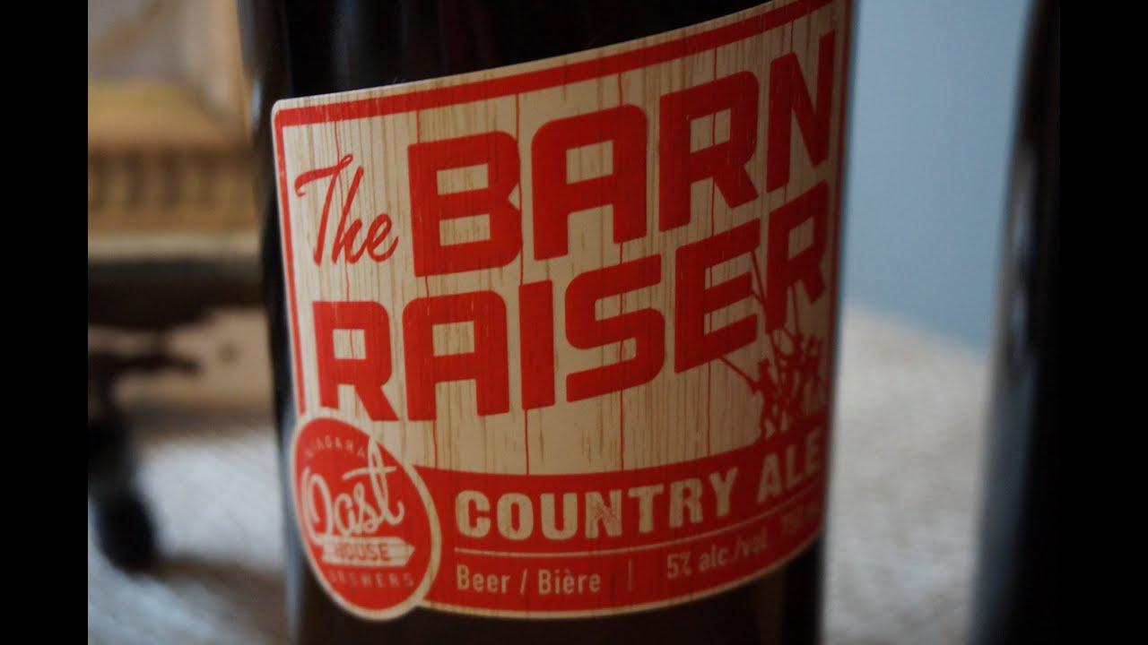 Niagara Oast House Barn Raiser Country Ale - #619 ...
