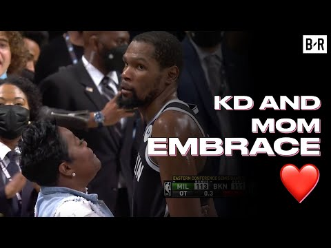 Kevin Durant And His Mom Share A Moment After Nets Lose Game 7