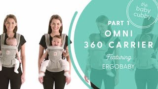 PART 1: Ergobaby Omni 360 | The All-In-One Baby Carrier