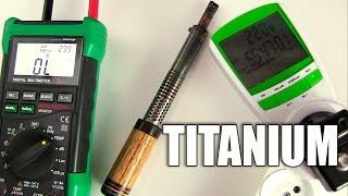 видео Круг титановый
