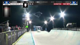 Shaun White Goes BIG in Snowboard SuperPipe - Winter X Games