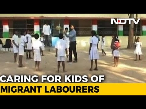Community Policing Takes Children Of Migrant Workers To School