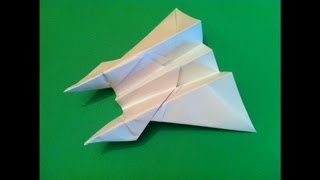The Best Paper Airplane Tutorial - How to make the Dive Bomber Airplane