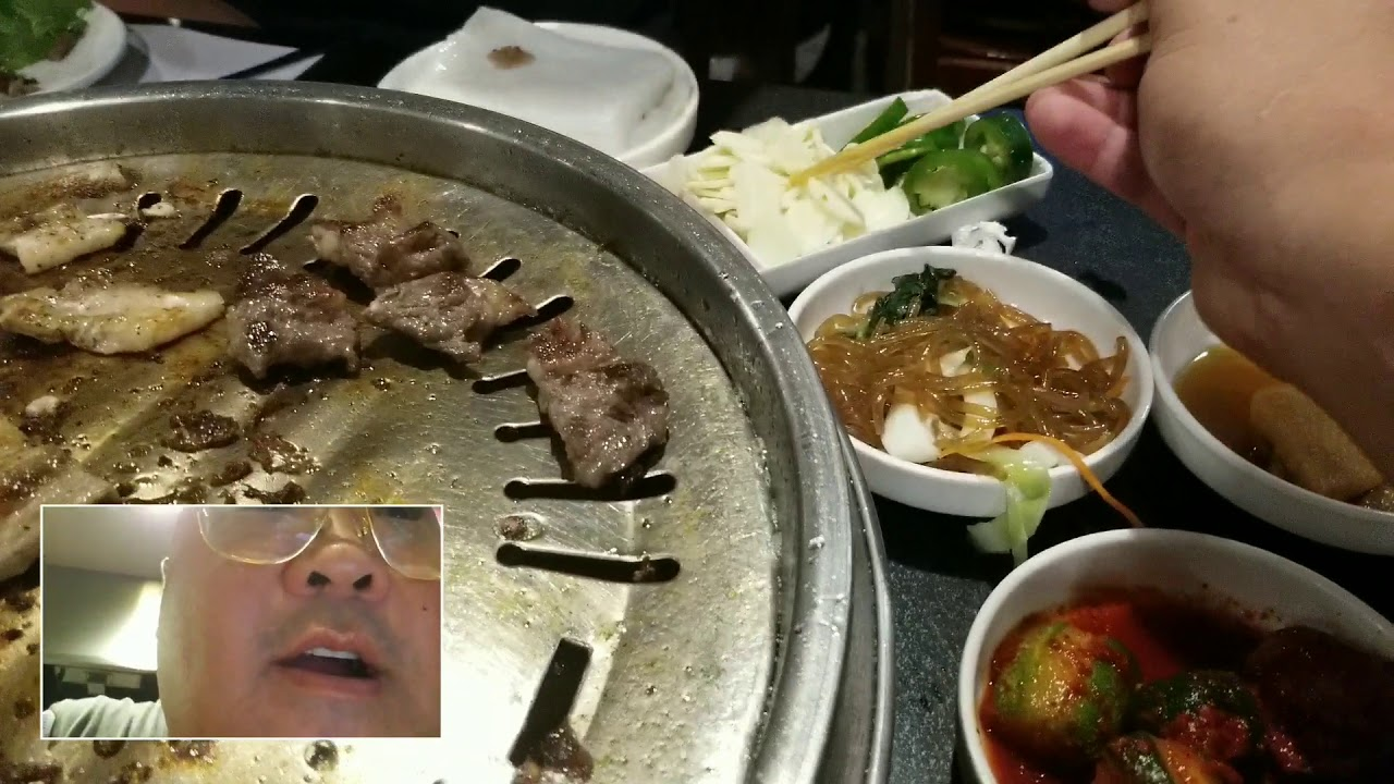 Eating With Arnold At BBQ Night In Hawaiian Gardens, CA - YouTube